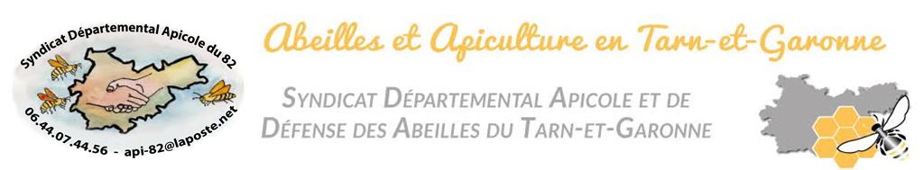 Abeilles et Apiculture en Tarn-et-Garonne
